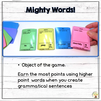 Mighty Words! (Black and White) Game