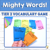 Tier 2 Vocabulary Game Mighty Words