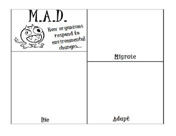 Migrate, Adapt or Die...Responses to Internal and External