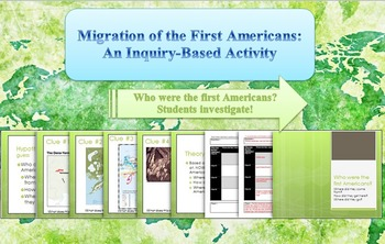 Migration of the First Americans Inquiry Activity
