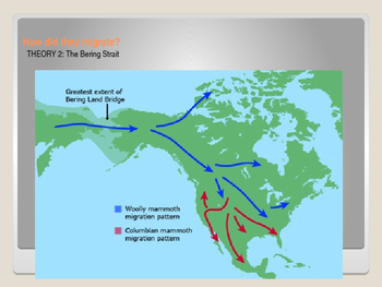 Migration to Americas: Early American Cultures