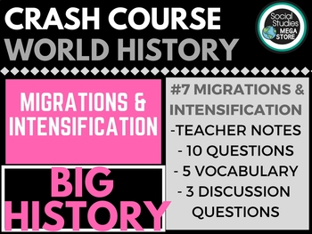 Migrations and Intensification: Crash Course Big History #7