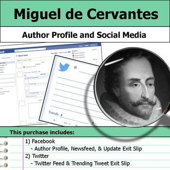 Miguel de Cervantes - Author Study - Profile and Social Media