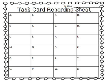 Missing Addends to 20 Task Cards