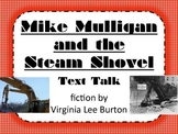 Mike Mulligan and the Steam Shovel Text Talk Supplemental Materials