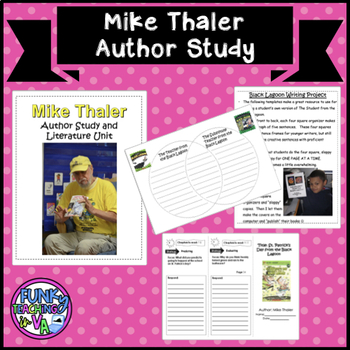 Mike Thaler (Black Lagoon) Author Study and Literacy Unit