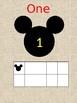 Mickey Numbers/Ten Frame