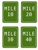 Mile Marker Clip Art Bulletin Board Kit
