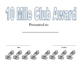Mileage Club Awards