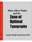 Miles Albert Tinker and the Zone of Optimal Typography