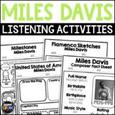 Miles Davis Composer Listening Activities, May