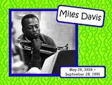 Miles Davis: Musician in the Spotlight