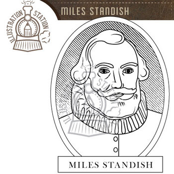 Miles / Myles Standish Clip Art