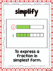 Milestone Freebie: Math Vocabulary Posters (Fractions)
