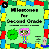 Milestones for Second Grade