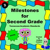 Milestones for Second Grade