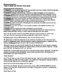Milestones Argument and Verb Moods Review Unit