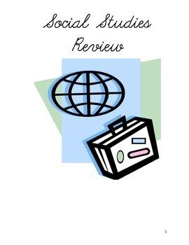 Milestones Review Social Studies