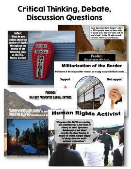 Operation Gatekeeper & the U.S./Mexico Border