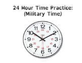 Military (24 hour) Time Practice