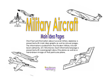 Military Aircraft Main Idea Excerces