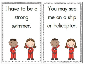 Military Branches- Scrambled Sentences, Short Books, & Vocabulary