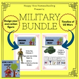 Military Bundle - Make your own Action Figure and Timeline