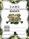 Military Camo {Army} Binder Cover