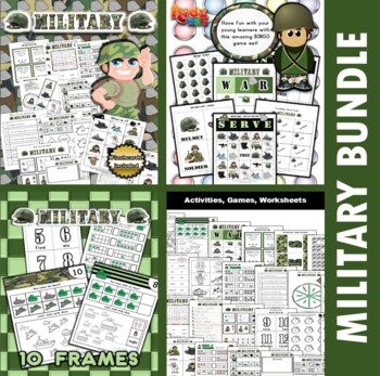 Military Classroom Center Bundle