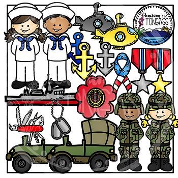 Military Clipart Bundle