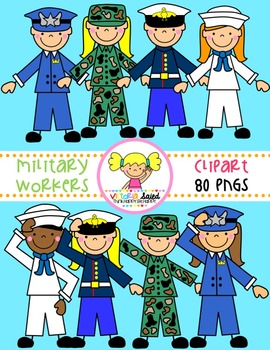 Military Clipart {Verteran's Day}