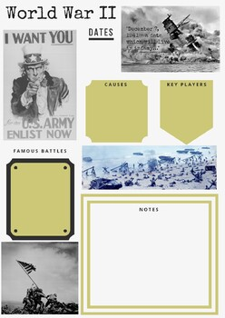 Military History Guided Notes - World War II