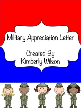 Military Letter of Appreciation Writing Prompt