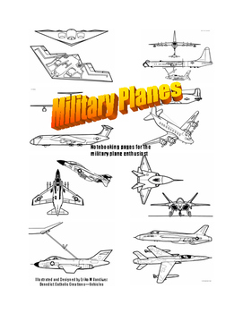 Military Planes Notebooking and Writing pages