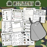 Military Themed Activity Set