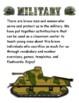 Military Themed Activity Set