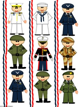 Military Themed Classroom Decor