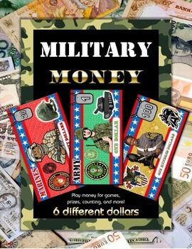 Military Veteran's Day Money Set