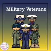 Military Veterans - A Boom Card Comprehension Activity
