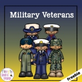 Military Veterans - Boom Card Freebie