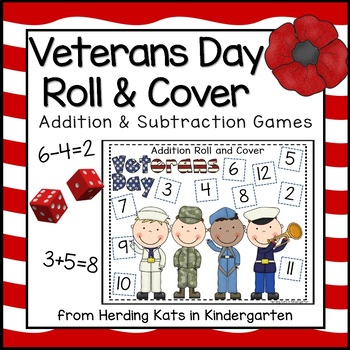 Veterans Day Roll & Cover Games!