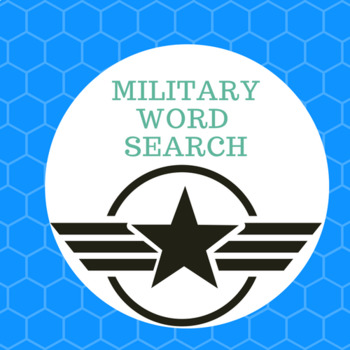 Military (WORD SEARCH)