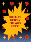 Military Weapon Changes in WWI