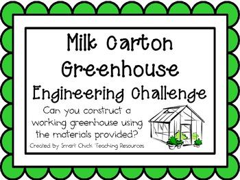 Milk Carton Greenhouse: Engineering Challenge Project ~ Great STEM Activity!