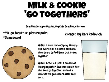 Milk & Cookie 'Go Togethers'