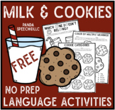 Milk & Cookies Quick Language Pack FREEBIE