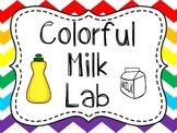 Milk Experiment {Great Beginning of the Year Science Observation Lab}