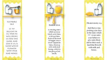 Milk N Honey Bookmarks