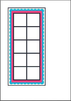Ten Frames - Milk Shake Tens - Math Center Activity