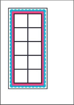 Ten Frames Games - Milk Shake Tens - Math Center Activity